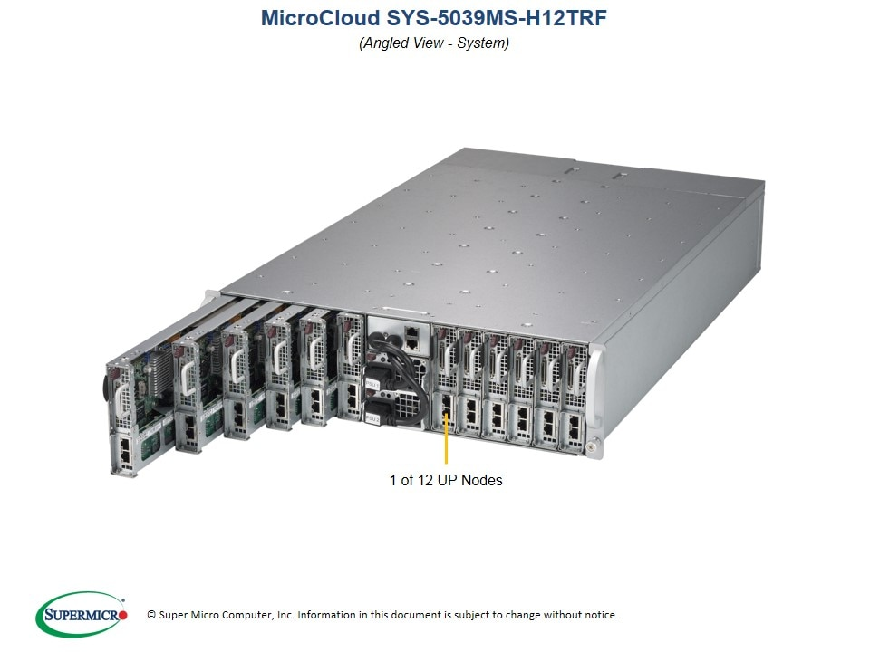 SuperServer-5039MS-H12TRF