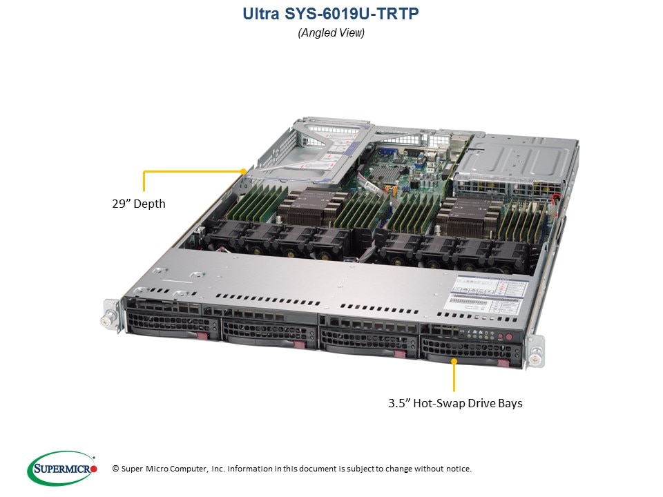 SuperServer-6019U-TRTP main image