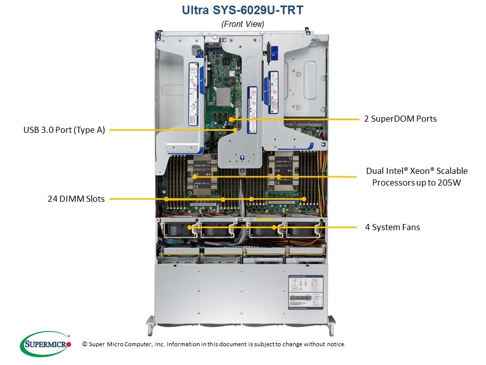 SuperServer-6029U-TRT fourth image