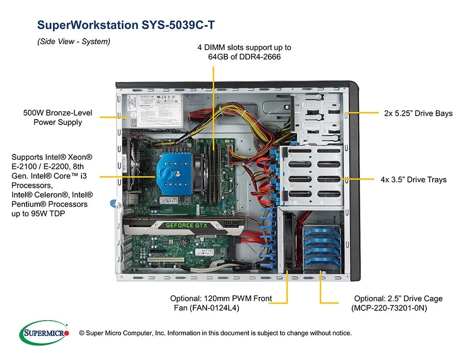 SuperWorkstation-5039C-T fourth image
